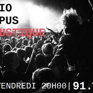 Radio Campus Acoustique Moustachue #10 Avec Deluxe & Alphaze