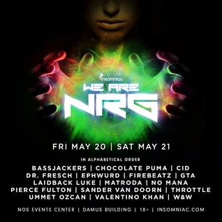 Sander van Doorn - Live @ We Are NRG Festival, NOS Events Center (San Bernardino) - 21.05.2016