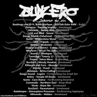 Dubstep Mix XXI - Studio Mix by BunZer0