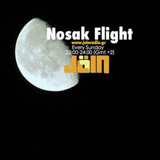 Nosak Flight on www.joinradio.gr 12-10-2014/22:00-23:00(Gmt +2)