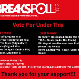Under This - Breakspoll 2012 Promo Mix