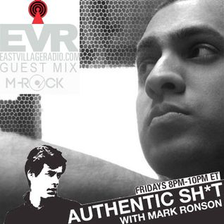 Live Guest Mix on Mark Ronson's Authentic Sh*t East Village Radio Show