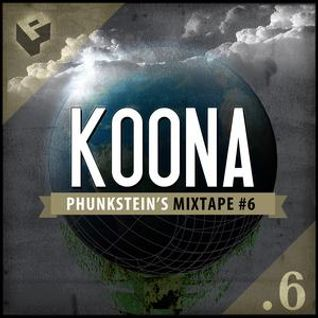 Phunkstein's Mixtape #6 released by PHUNKSTEIN_KREW