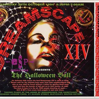 DJ Vibes & MC Charlie B Dreamscape 14 'The Halloween Ball' 29th Oct 1994