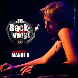 Cox Live Session Manue G  Back to Vinyl 06/03/2014