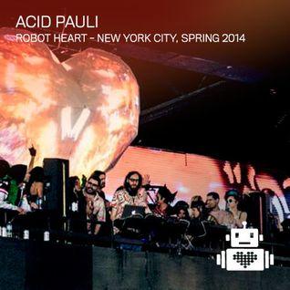 Acid Pauli - Robot Heart New York Spring 2014