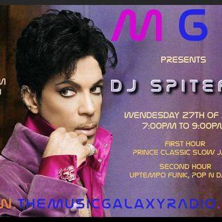 DJ Spiteful - THEMUSICGALAXYRADIO - 27-04-2016 - PRINCE SPECIAL TRIBUTE 320k