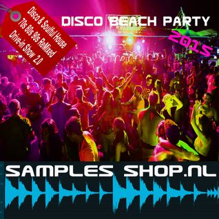 Samples Shop Live Radio & Drive-in Show Disco Beach Party