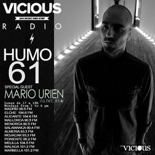 Humo 61 On Vicious Radio Special Guest Mario Urien 22/12/2014