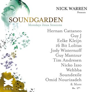 Nick Warren - Live at SoundGarden, Ibiza Closing Party, Eden Ibiza (07-09-2015)