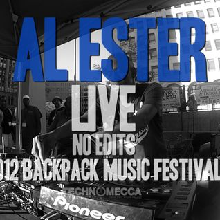 AL ESTER LIVE 2012 SCP/UR BACKPACK FESTIVAL MIX