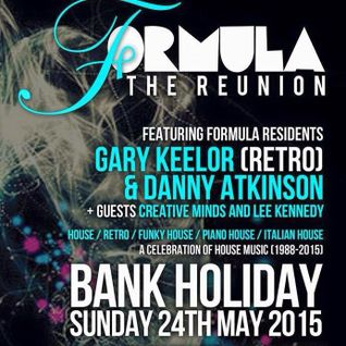 Formula 'The Reunion' @ Botanica - Carlisle (24/5/2015)