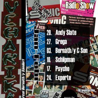 Andy Slate @ Audio Control Radio Show (2012.01.20.)