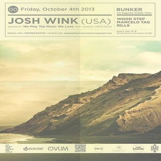 Josh Wink - Live at The Bunker (Turin) - 04-Oct-2013