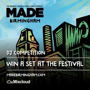 Winning Mix For MADE Birmingham 2015 Shaun Mynett