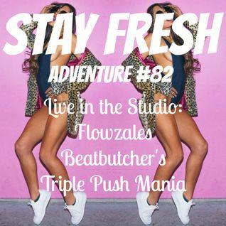 Adventure #82 Tony Beatbutcher Ableton Push Live Set & Flowzales