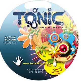 ToniC EP10 - Live Mix by Brandon