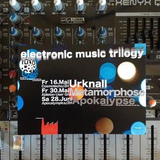 Electronic music trilogy 2/3 Ableton Users group Zurich: Metamorphose