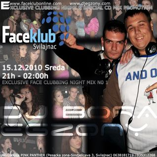 eGzOnY - EXCLUSIVE FACE CLUBBING NIGHT CD MIX N0 1
