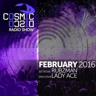 Cosmic Disco Radioshow - FEBRUARY 2016