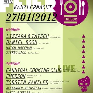 Cannibal Cooking Club live @ Tresor Berlin 27.01.2012
