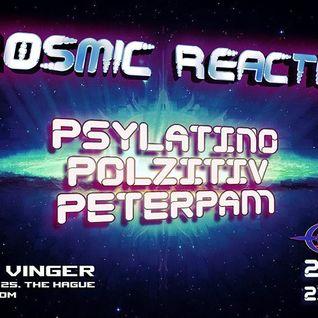 Dj Psylatino = = Kosmic Reactions = =