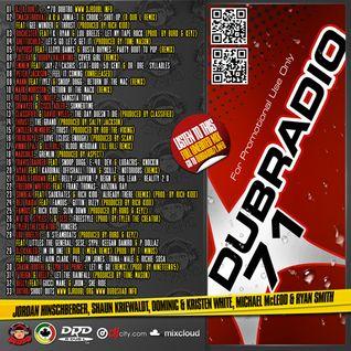 DJ R DUB L Present's Dub Radio 71 (Full Unedited mix) 2012