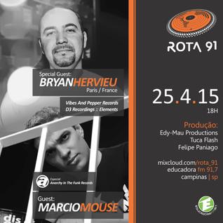 Rota 91 - 25/04/15 - Educadora FM
