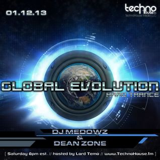 Dean Zone - Global Evolution Guest Mix (January 2013)