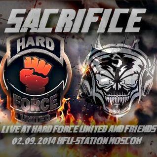 SACRIFICE LIVE AT H.F.U.-STATION MOSCOW 02.09.2014