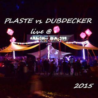 Plaste vs. Dubdecker @ KrachAmBach2015