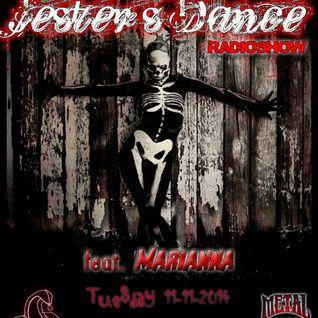 Jester's Dance RadioShow @ MetalZone.gr - feat.Marianna Part I