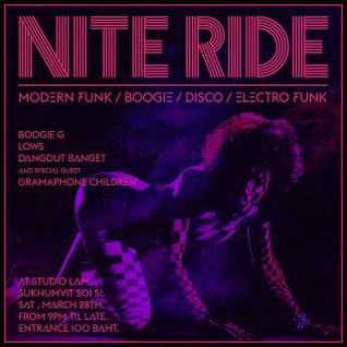 Nite Ride Vol.01 (Vinyl Mix)