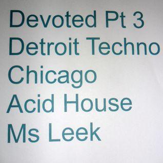 Detroit techno chicago acid house shows mixcloud for Acid house techno