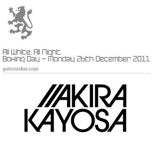 Akira Kayosa - Gatecrasher White Party (26-12-2011)