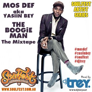 Mos Def aka Yasiin Bey: The Boogie Man - The Mixtape - Mixed By Dj Trey (2014)