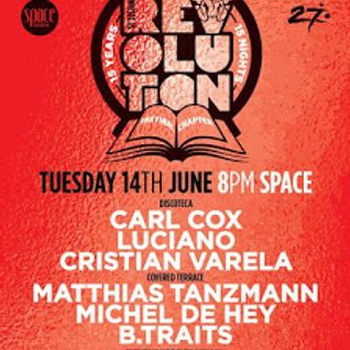 B.Traits - @ Carl Cox - The Final Chapter (Opening Party) at Space Ibiza - 14-Jun-2016