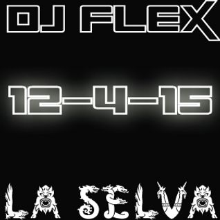 DJ Flex Live at LA SELVA 12-4-15