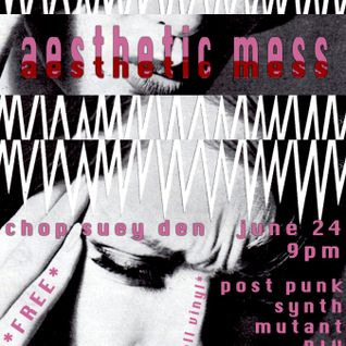 Aesthetic Mess: 062015 all vinyl live mix