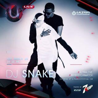 Dj Snake LIVE @ Ultra Music Festival Miami 2016 18/03/2016