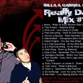 "Gabriel Madrid & Billa ""Really Dope Mix"" Vol. 1 from 2008"