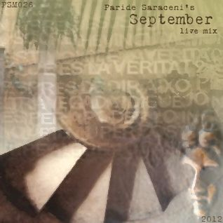 PSM026 - Paride Saraceni - September Mix 2012