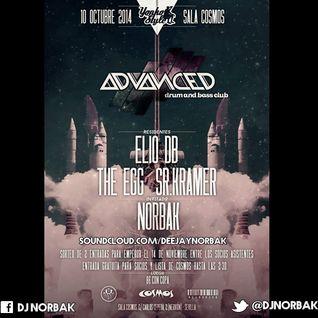NORBAK @ Advanced Club - Sala Cosmos (Sevilla) [10.10.2014]