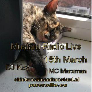 Pure Mustard Radio Live 18th March 2016- DJ Kay & MC Marxman