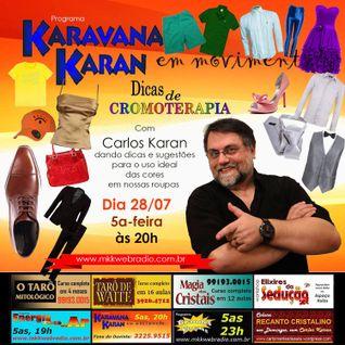 Programa Karavana Karan 28/07/2016 - Carlos Karan