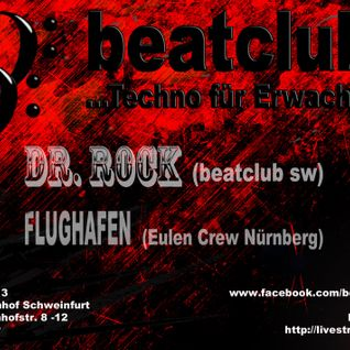 Flughafen & Dr Rock LIVE@Beatclub Herrenrunde Stattbahnhof Schweinfurt 09.02.13