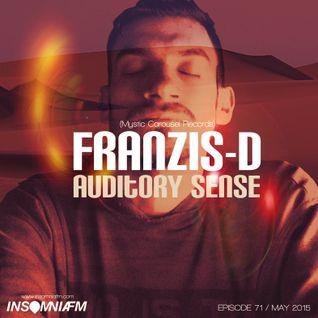 Franzis-D - Auditory Sense 071 @ InsomniaFm - May 14, 2015