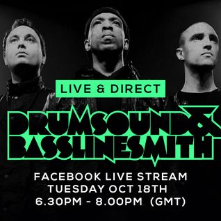 Drumsound & Bassline Smith - Live & Direct #8 (18/10/16)