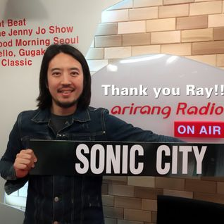 Sonic City 2016-04-03: Final words from Dj Ray and final song played: It's alright by Ray Kang
