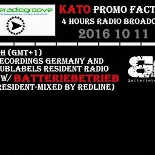 Only Batteriebetrieb Tracks Mixed By Redline (SDL Recordings Radio Show @ Kato Promo Factory)